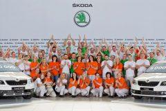 Eén miljoenste Škoda Octavia (3e generatie)