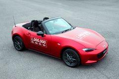 Eén miljoenste Mazda MX-5