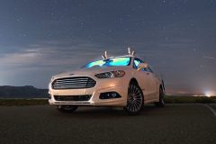 Autonome Ford Fusion Hybrid 2016