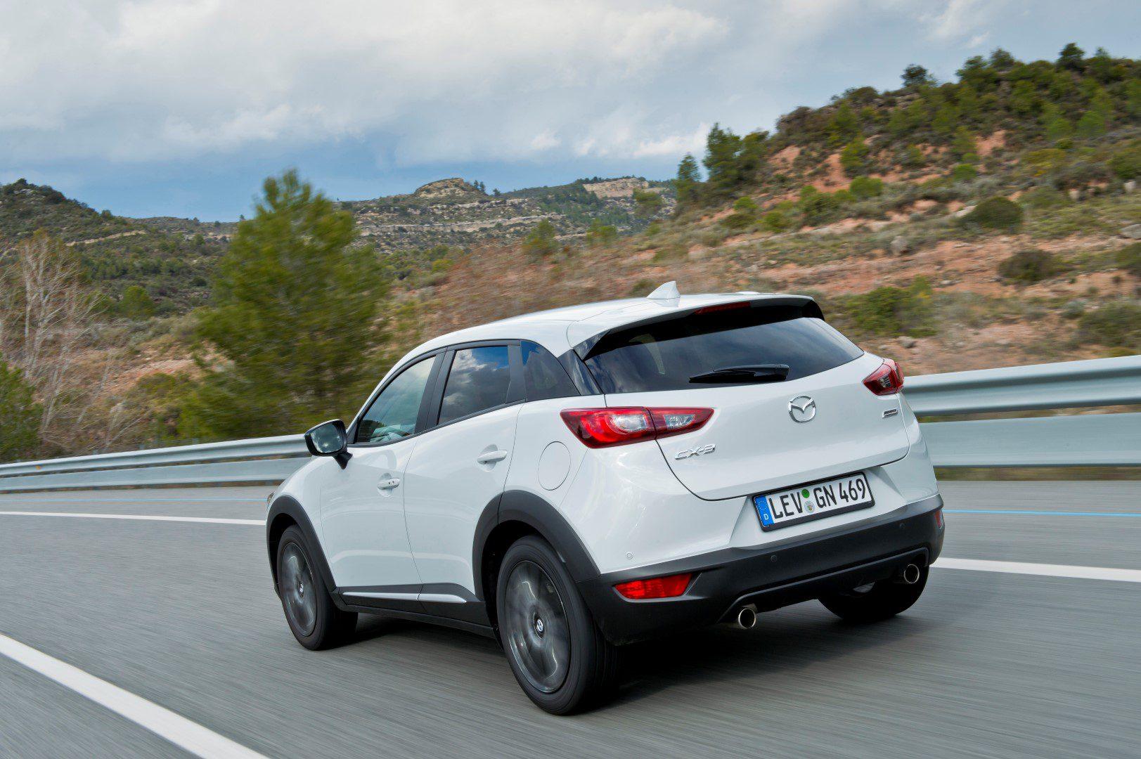Mazda Introduceert Rijk Uitgeruste Cx 3 Skylease Gt