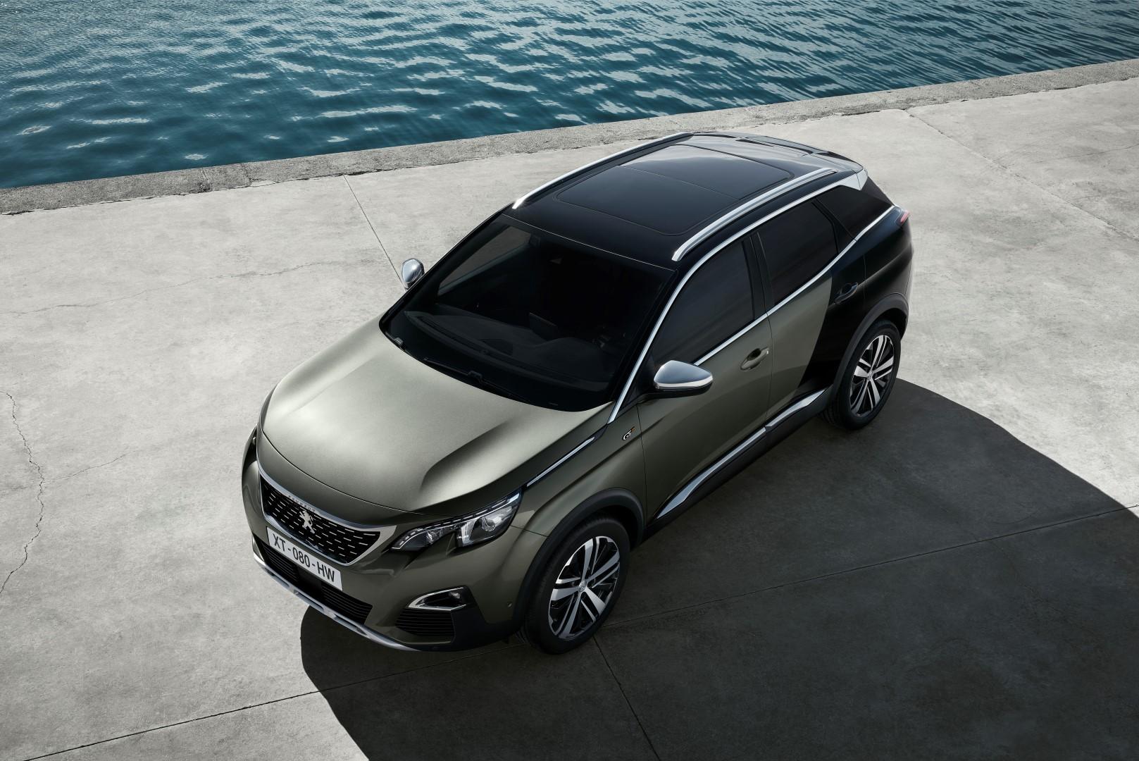 Peugeot onthult 3008 als gt en gt line for Interieur 3008 gt line