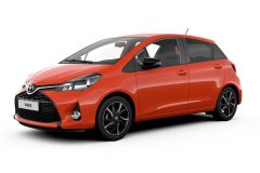 Toyota Yaris Orange Sport 2016