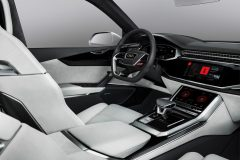 Audi Q8 sport concept 2017 Android OS
