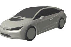 BMW i5 2018 (patentbeelden) (2)