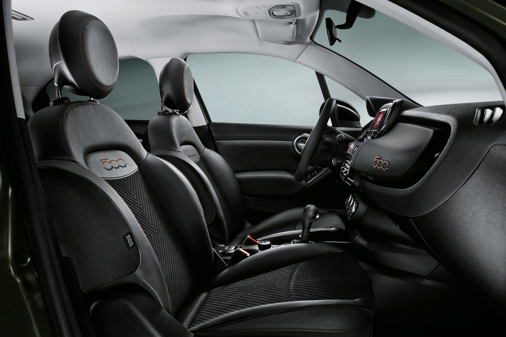 Fiat 500x s design te bezichtigen in gen ve for Fiat 500 x interieur
