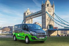 Ford Transit Custom PHEV 2017 (Londen test) (1)