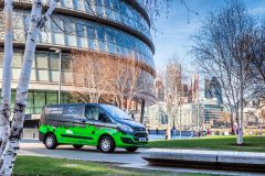 Ford Transit Custom PHEV 2017 (Londen test) (2)