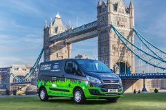Ford Transit Custom PHEV 2017 (Londen test) (4)