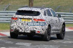 Jaguar F-Pace SVR 2018 (spionage)