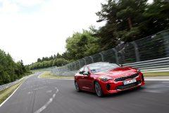 Kia Stinger Nürburgring 2017
