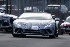 Lamborghini Huracán Spyder Performante 2018 (spionage) (2)