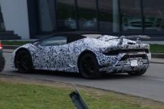 Lamborghini Huracán Spyder Performante 2018 (spionage) (6)