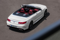 Mercedes-AMG S 63 Cabriolet 2017