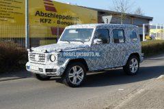 Mercedes-Benz G-Klasse 2018 (spionage) (3)
