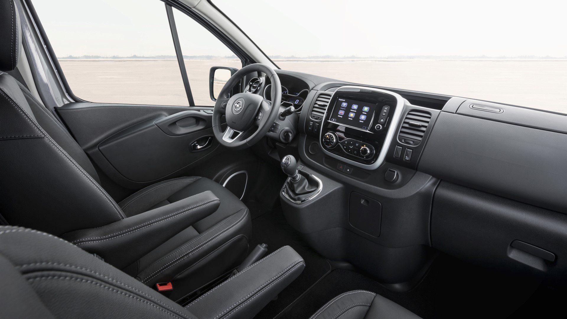 Opel Vivaro Nu Ook Als Tourer En Combi Innovation