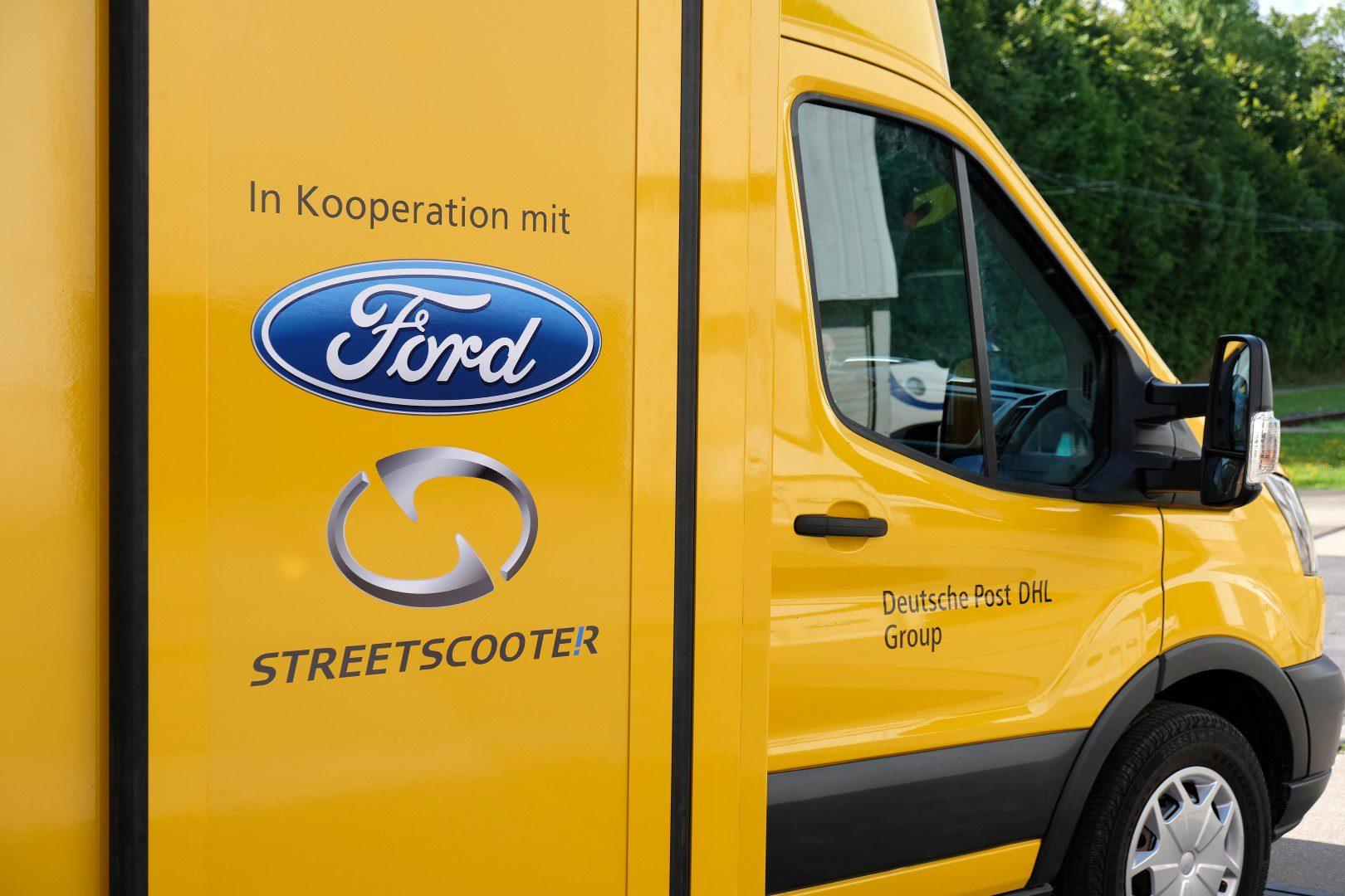 Elektrische Ford Bedrijfswagen Voor Deutsche Post Dhl Dagelijksauto Nl