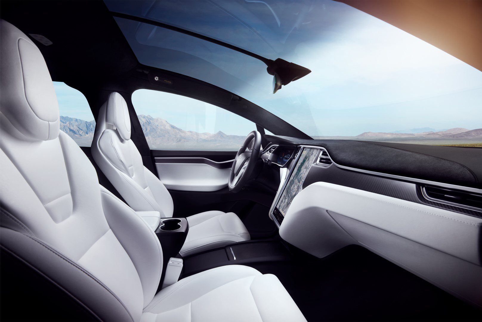 Belangrijke update voor tesla model s en model x for Interieur tesla model s