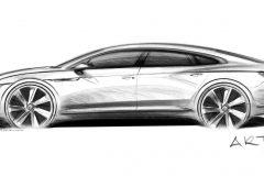 Volkswagen Arteon 2017 (schets)