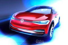 Volkswagen I.D. Crozz 2017 (schets)