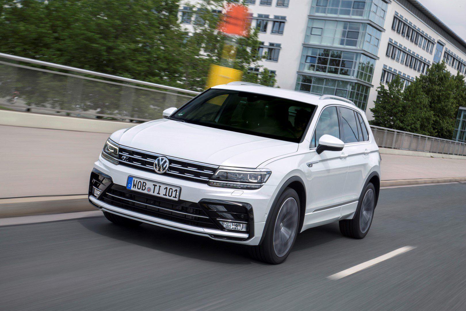Motoraanbod Volkswagen Tiguan Verder Uitgebreid