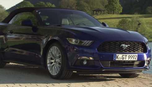 Ford Mustang Fastback & Mustang Convertible 2015
