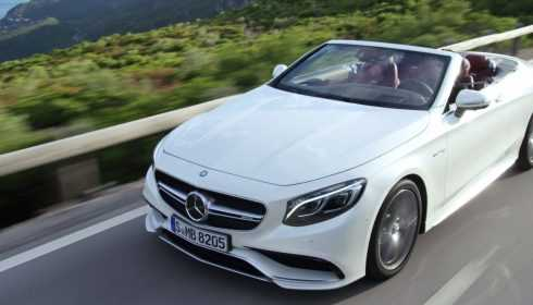 Mercedes-AMG S 63 4Matic Cabriolet 2016