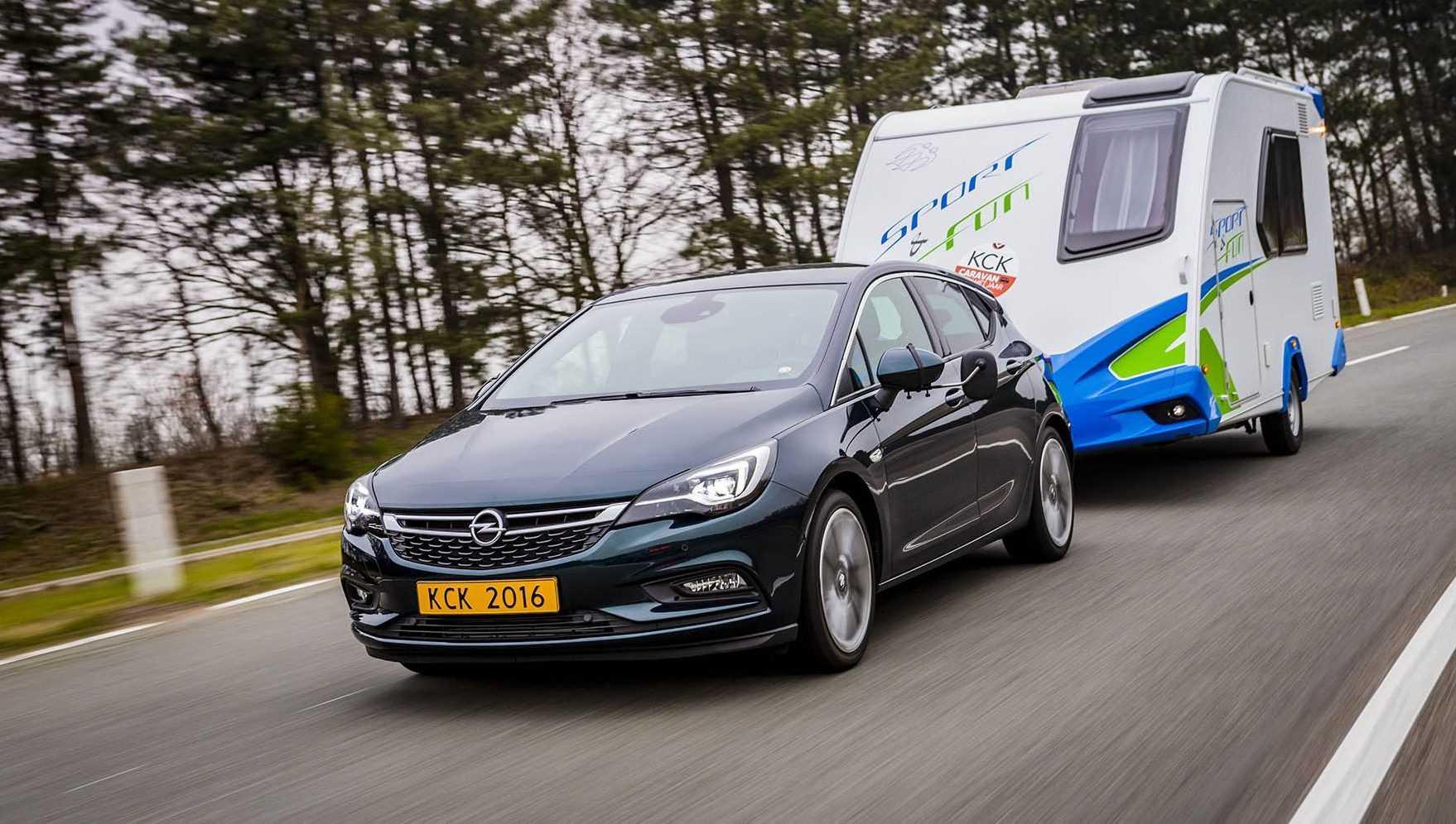 Opel Astra Trekauto van het Jaar 2016