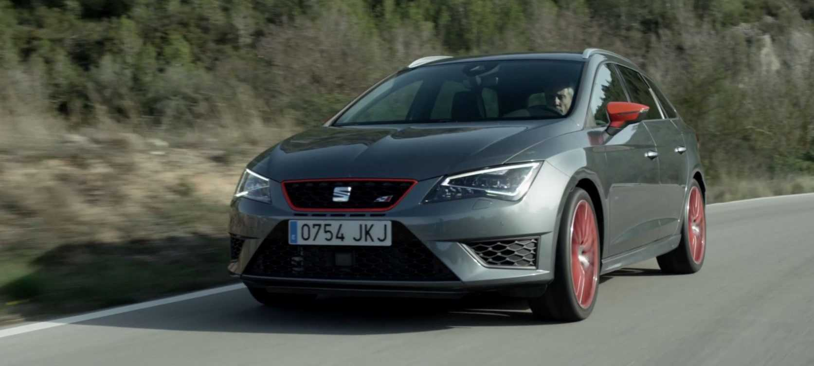 video seat leon st cupra 290 2016. Black Bedroom Furniture Sets. Home Design Ideas