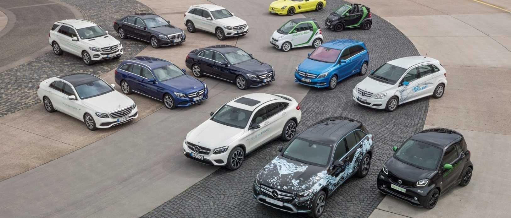 Elektrische modellen Mercedes-Benz & smart 2016