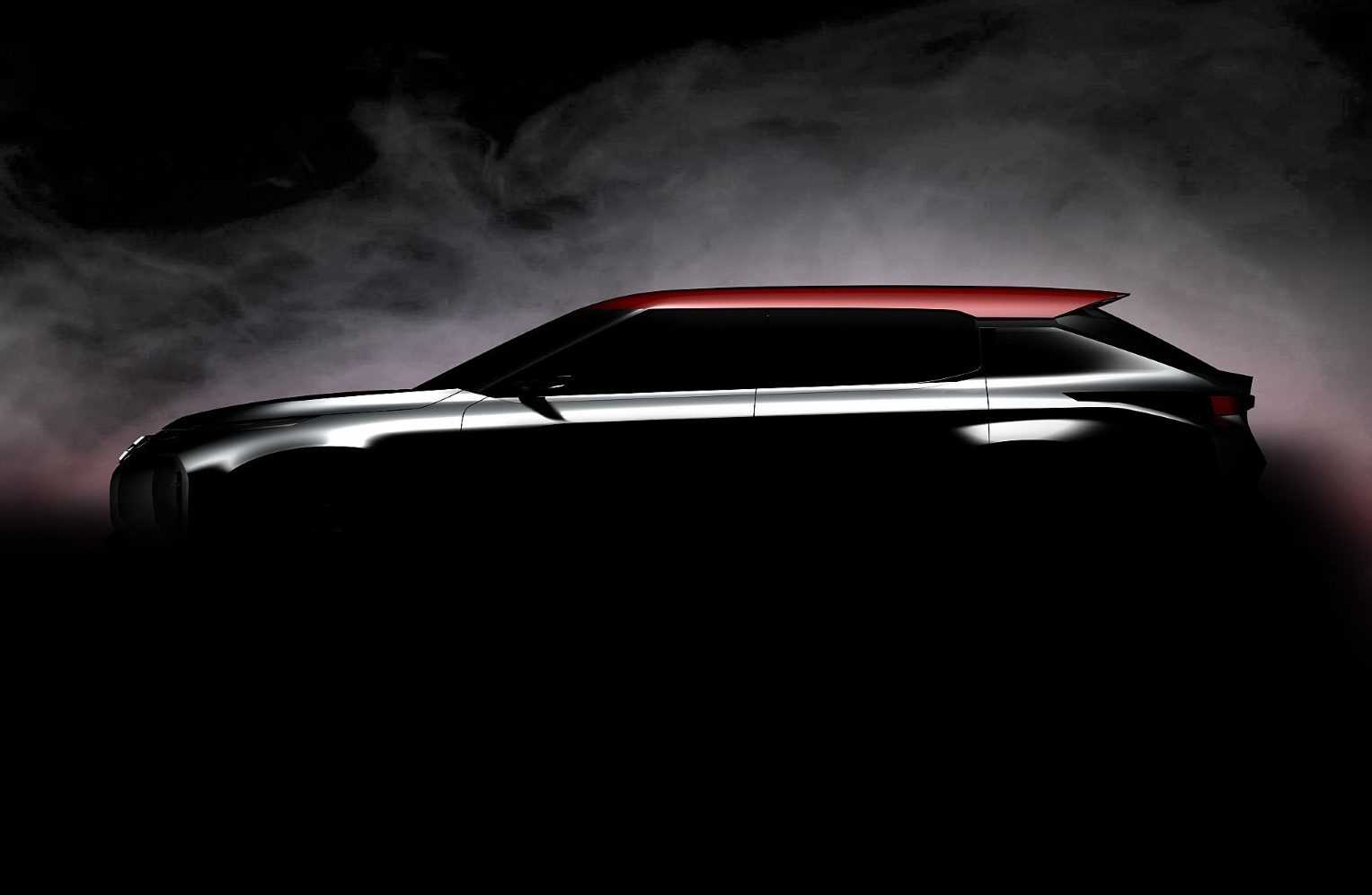 Mitsubishi Ground Tourer Concept 2016 (teaser)