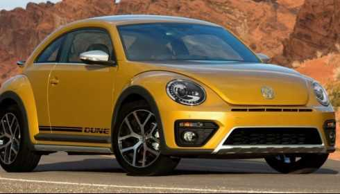 Volkswagen Beetle Dune Coupé 2016