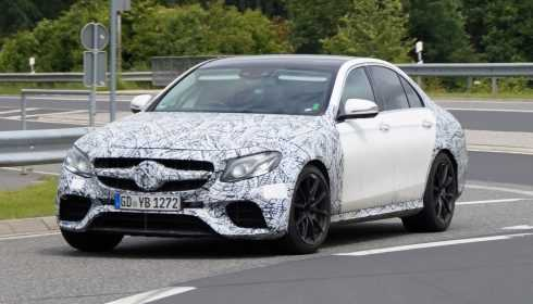 Mercedes-AMG E 63 Limousine & E 63 Estate 2017 (spionage)