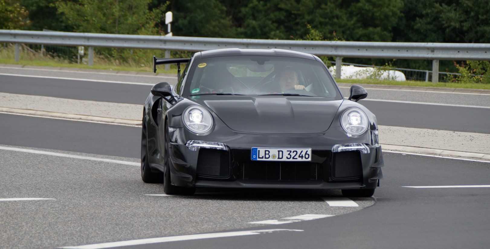 Porsche 911 GT2 2016 (spionage)