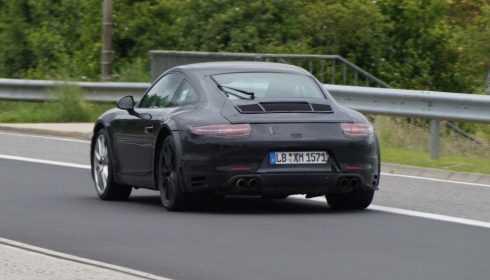 Porsche 911 GTS 2016 (spionage)
