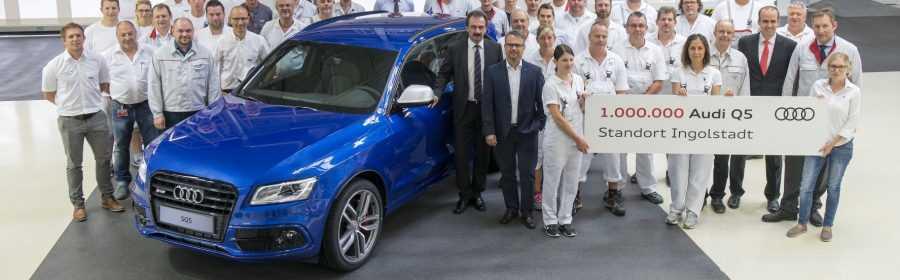 Één miljoenste Audi Q5