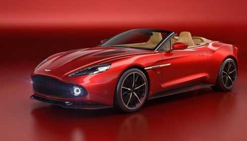 Aston Martin Vanquish Zagato Volante 2016