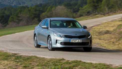 Kia Optima Plug-in Hybrid 2016