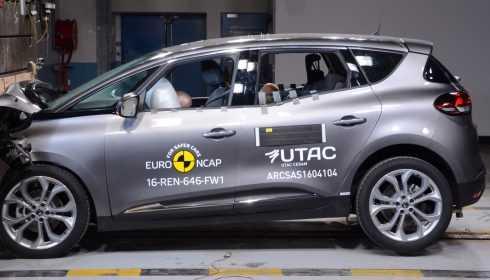 Renault Scénic 2016 (Euro NCAP)
