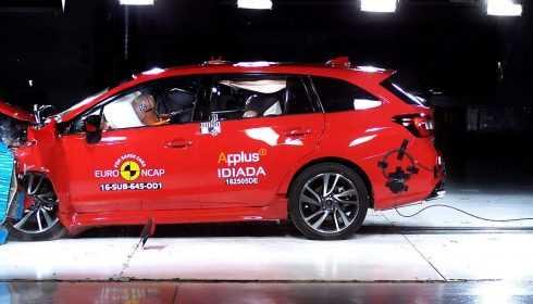 Subaru Levorg 2016 (Euro NCAP)