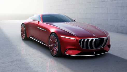 Vision Mercedes-Maybach 6 2016