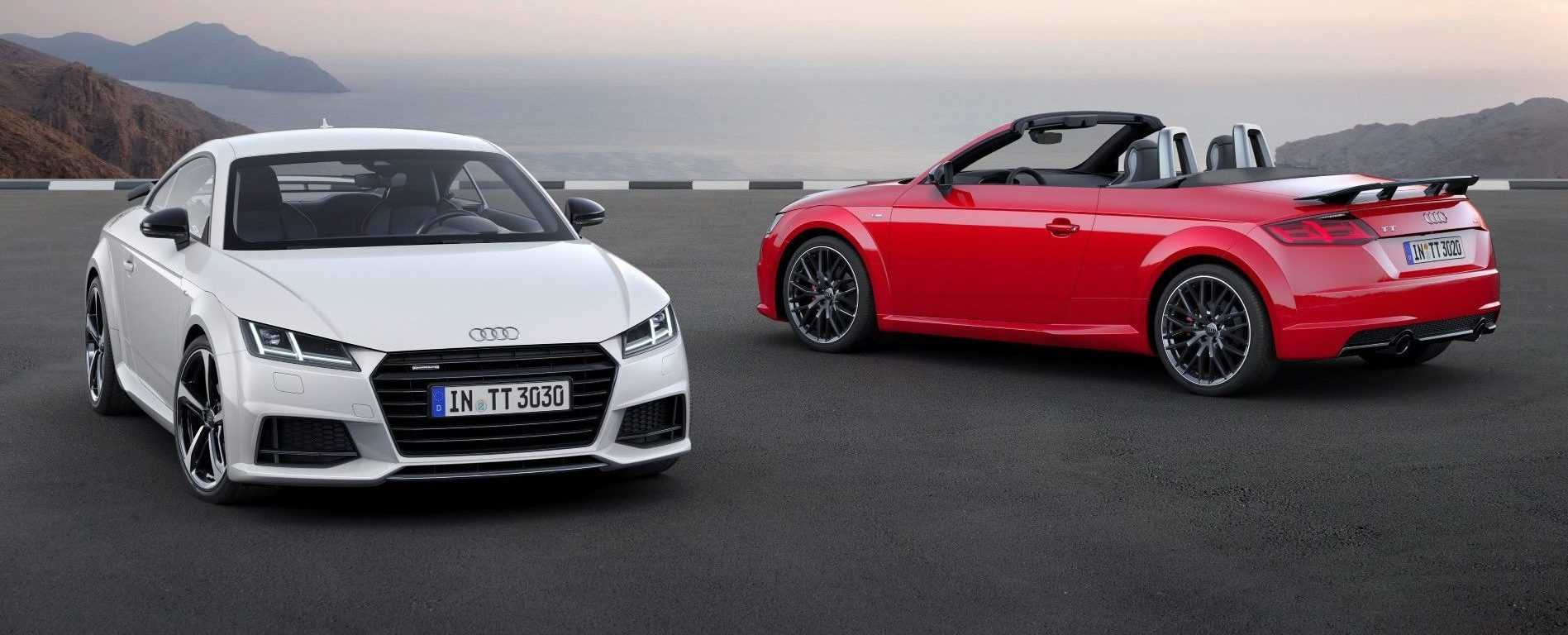 Audi TT Roadster en TT Coupé S line competition 2016