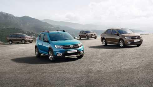 Dacia Sandero (Stepway) en Logan (MCV) 2016