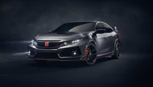 Honda Civic Type R Prototype 2016