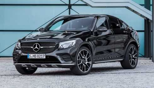 Mercedes-AMG GLC 43 4Matic Coupé 2016