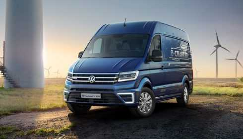Volkswagen e-Crafter Concept 2017