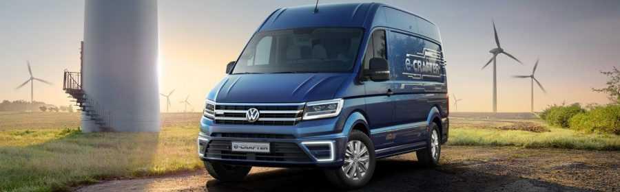 Volkswagen e-Crafter Concept 2017