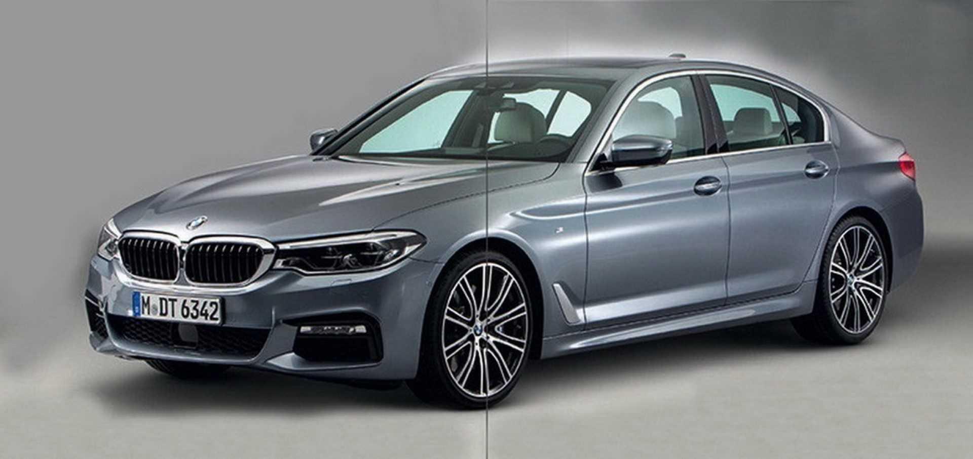 BMW 5 Serie 2017 (gelekt)