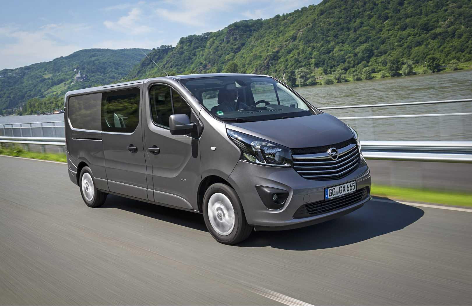 Opel Vivaro Dubbele Cabine 2016