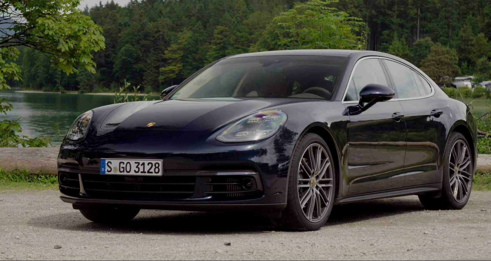 video porsche panamera 4s diesel 2016. Black Bedroom Furniture Sets. Home Design Ideas