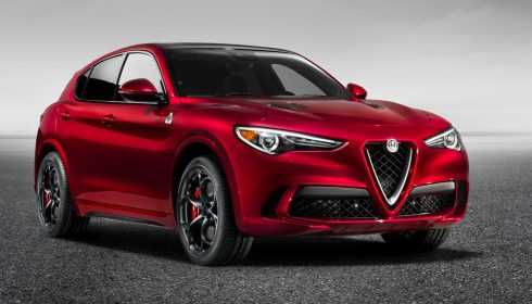 Alfa Romeo Stelvio Quadrifoglio 2017